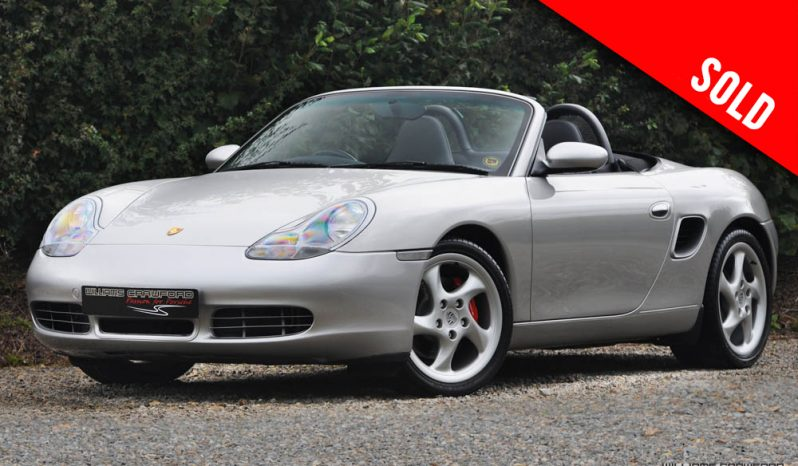 2000 Porsche 986 Boxster S manual sold by Williams Crawford