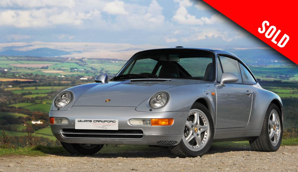 1997 Porsche 993 Targa manual sold by Williams Crawford