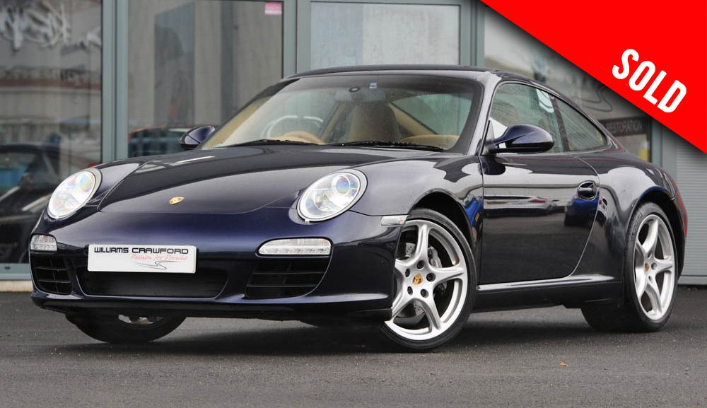 2009 model year Porsche 997 (gen II) Carrera 2 PDK coupe sold