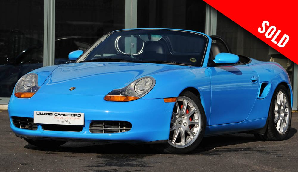 2002 Porsche 986 Boxster S manual Riviera blue sold