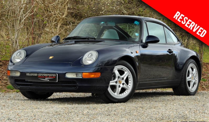 RESERVED – Porsche 993 Targa manual 1997