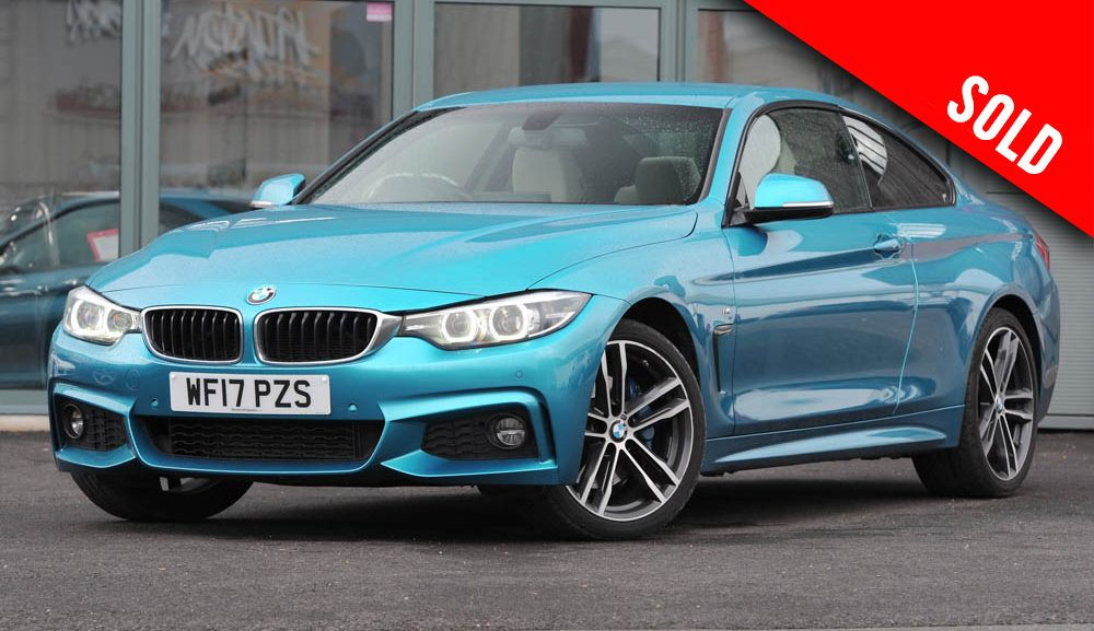 2017 BMW 420 D XDRIVE M SPORT AUTO COUPE SOLD