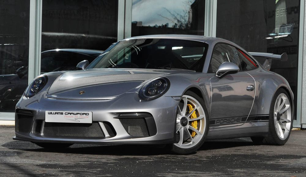 Front view of 2018 Porsche 991.2 GT3 PDK for sale