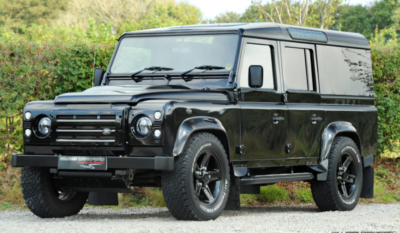 Tuned Land Rover Defender 110 XS TD Utility Station Wagon manual 2015