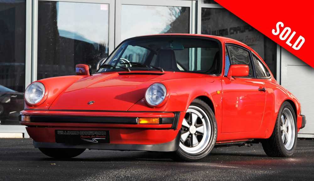 Porsche 911 3.0 SC special build sold by Williams Crawford
