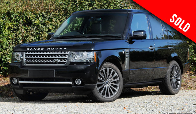 Range Rover Autobiography 5.0 Supercharged V8 auto 2011