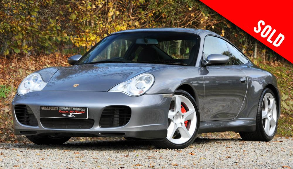 2003 Porsche 996 Carrera 4 S coupe sold