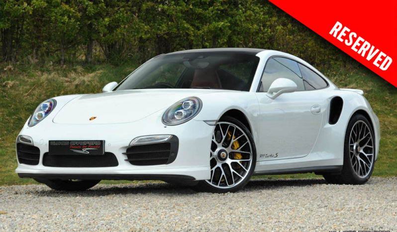 RESERVED – Porsche 991 Turbo S PDK coupe 2014 model year