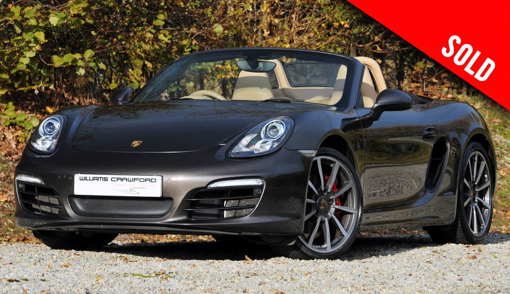2013 model year Porsche Boxster S 981 PDK sold by Williams Crawford