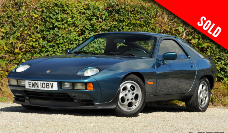 1979 Porsche 928 LHD auto sold by Williams Crawford