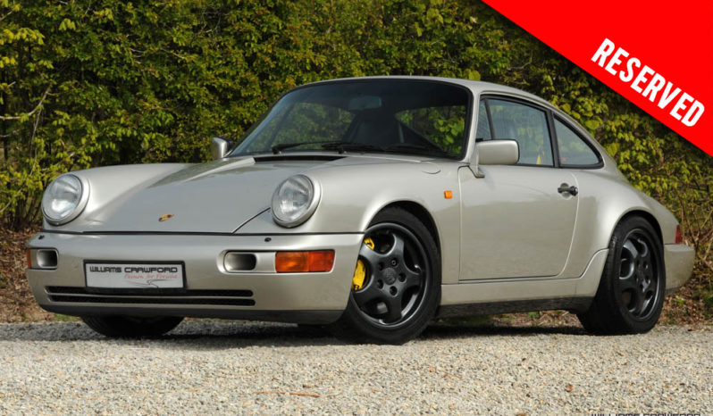 RESERVED – Porsche 964 Carrera 4 LHD manual coupe 1990