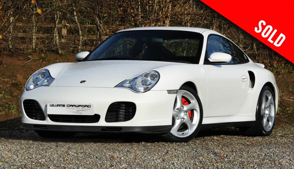2002 Porsche 996 Turbo Tiptronic S coupe sold by Williams Crawford