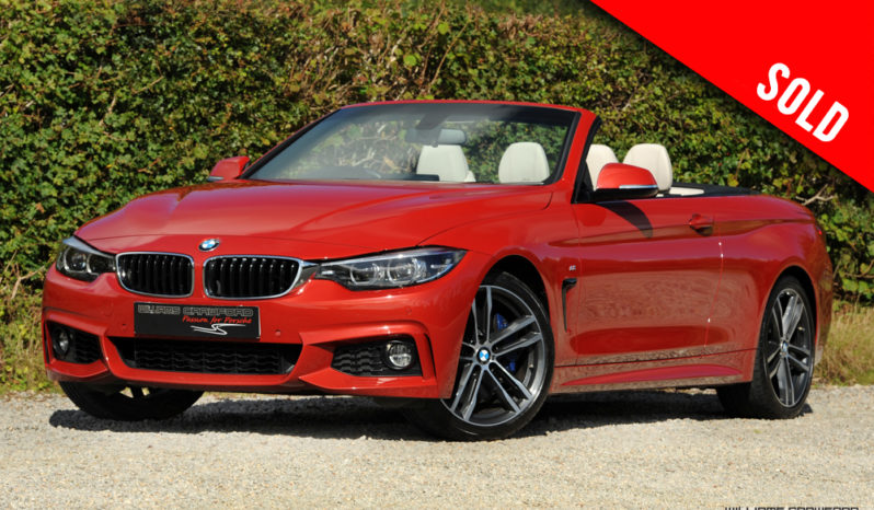 2019 model year BMW 440i M Sport auto convertible sold by Williams Crawford
