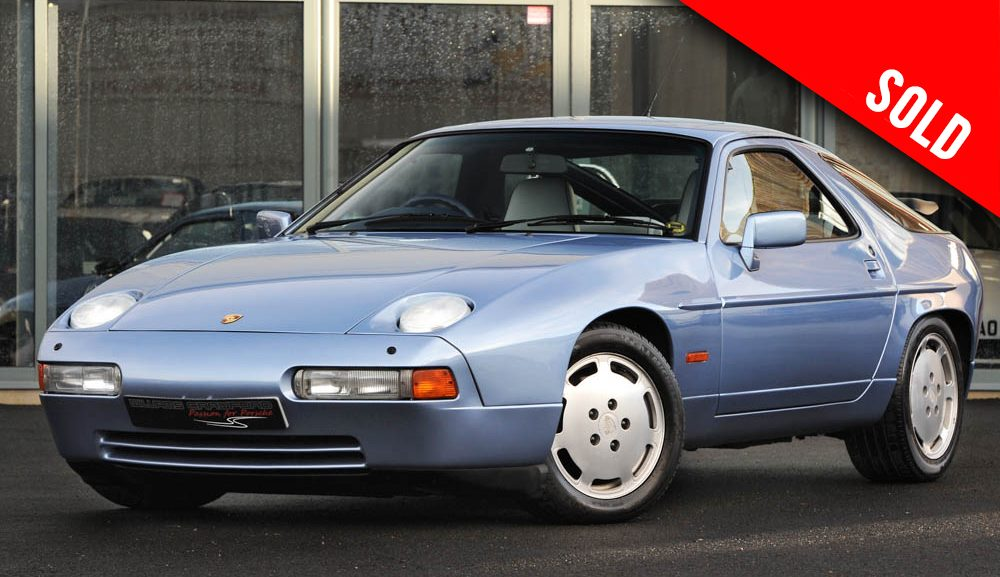 1991 Porsche 928 S4 auto sold by Williams Crawford