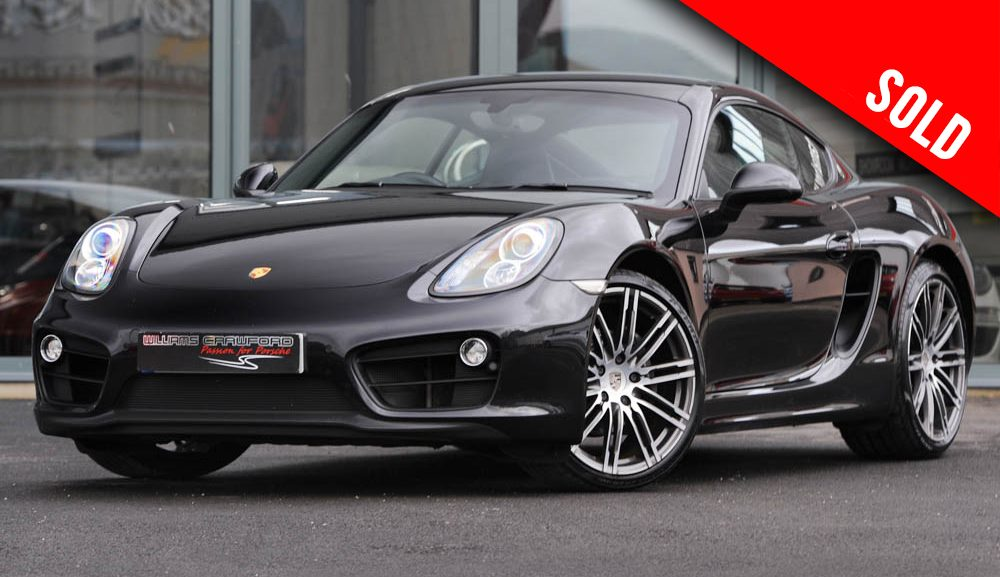 2015 Porsche 981 Cayman PDK sold by Williams Crawford