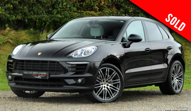 2017 Porsche Macan S 3.0 V6 petrol PDK sold by Williams Crawford