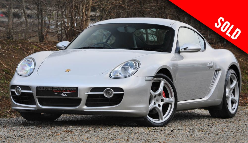 2006 Porsche 987 Cayman S manual sold by Williams Crawford
