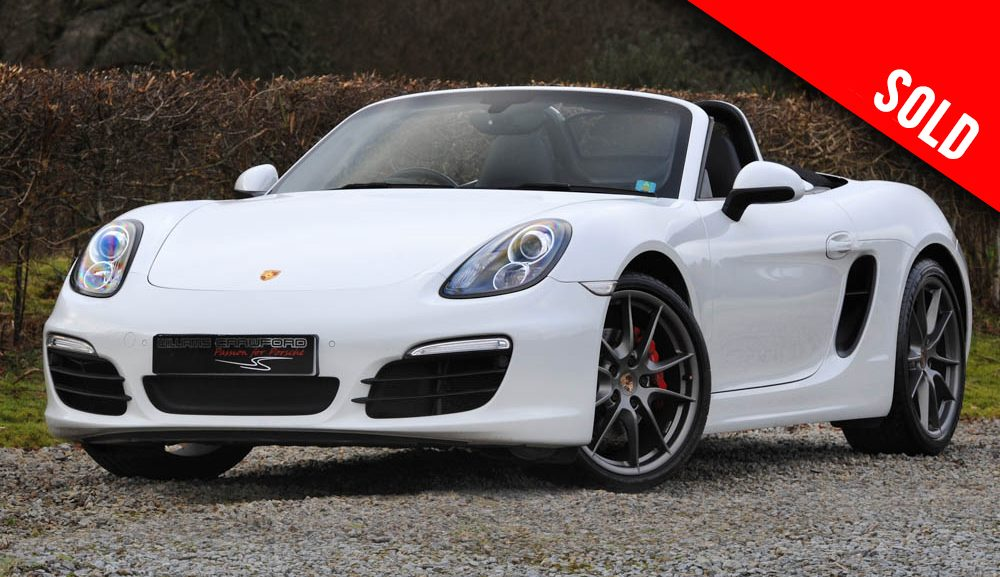 2014 Porsche 981 Boxster S PDK sold by Williams Crawford