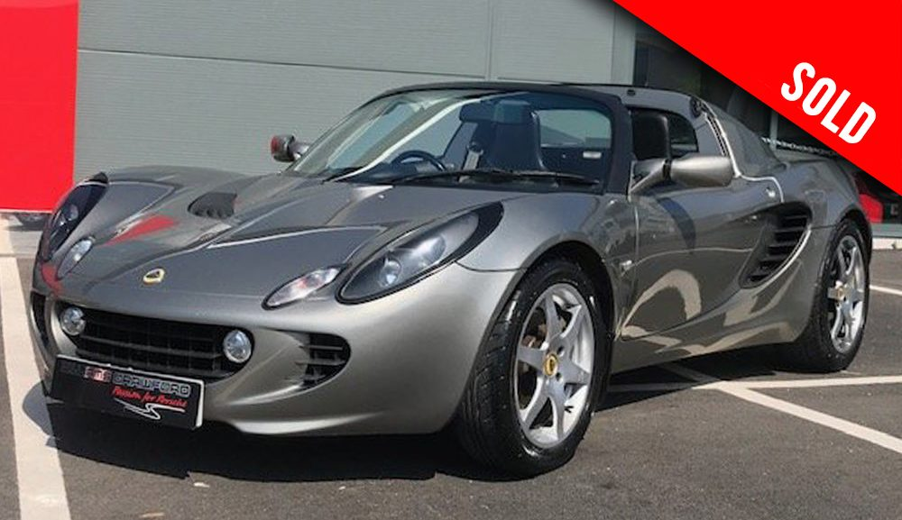 2004 model year Lotus Elise S2 sold by Williams Crawford