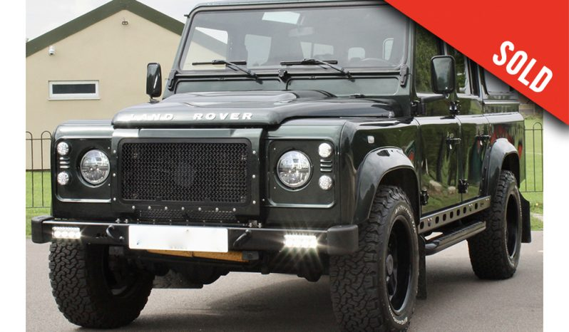 2011 MY Land Rover Defender 110 XS LS3 V8 LHD auto sold by Williams Crawford